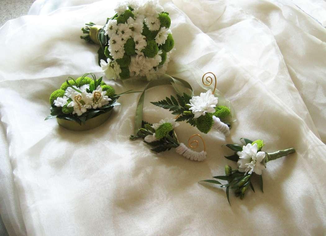 Фото 1082097 в коллекции Букет невесты - Цветочная мастерская Любови Ветровой