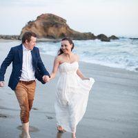 Свадьба за границей. Фотосессия на берегу Тихого Океана, Калифорния
