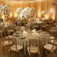 Свадебное оформление ресторана. Композиции на стол. Свадебная флористика
