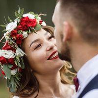 Свадьба Кристины и Данила Фотограф: Дмитрий Архар Визажист-стилист: Марина Усова Венок: Wedding Set