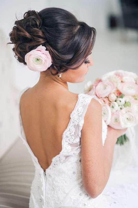 Фото свадебных причесок для гостей