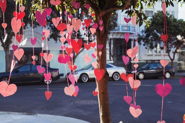 Гирлянда ко дню влюбленных