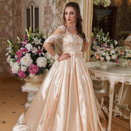 Платье Золотая волна