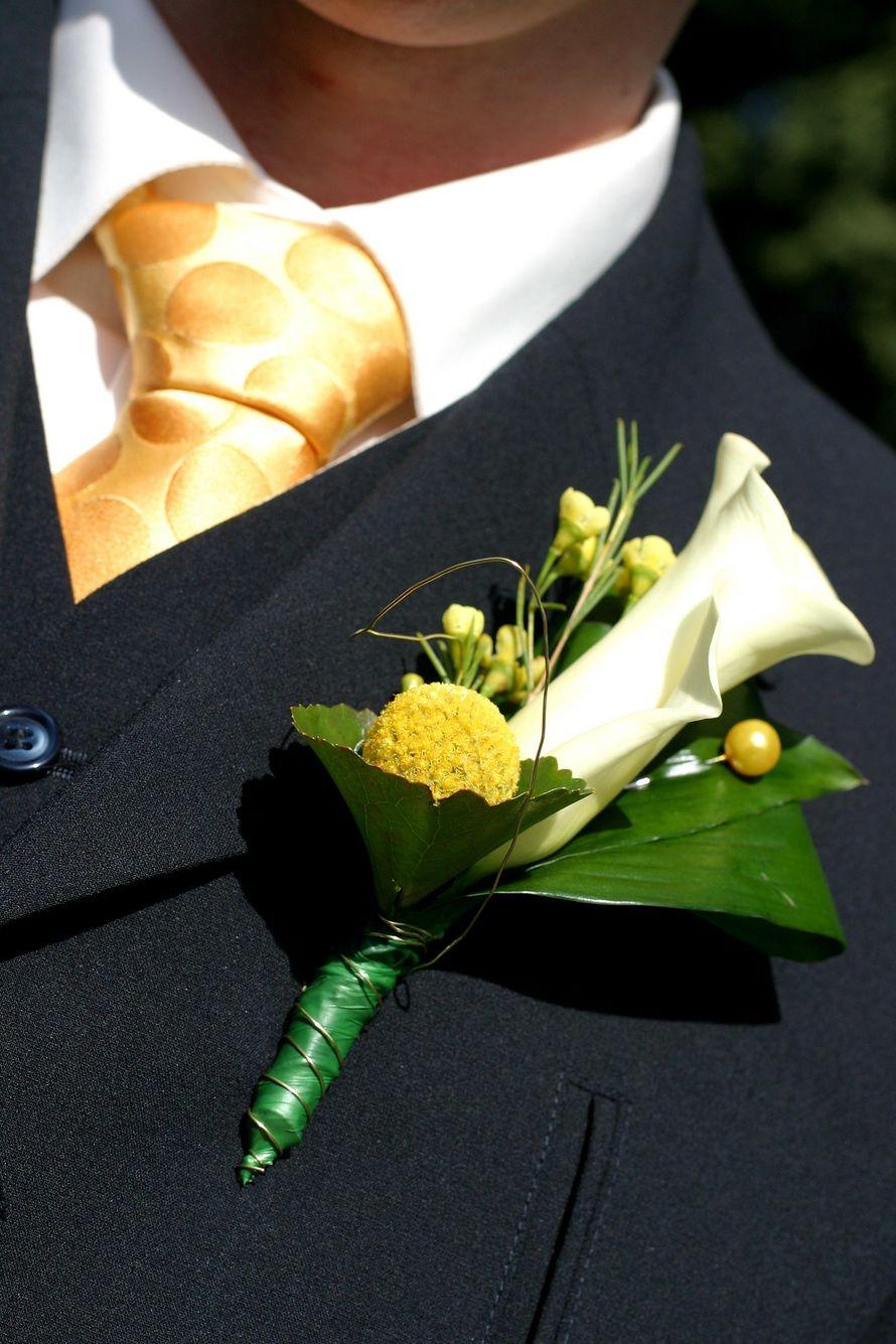 Оформить букет для жениха, цветов