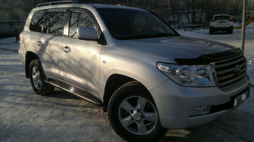 Аренда Toyota Land Cruiser 200 2013 г.в. Цвет серебро