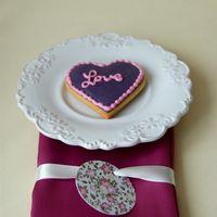 Подарочное печенье для гостей.