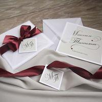 Приглашения на свадьбу Максима и Татьяны в воздушных конвертиках из кальки!
