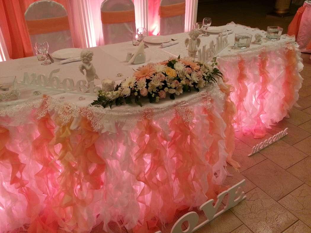 "оформление стола - фото 2830481 ""Маэстро"" - свадебное оформление"