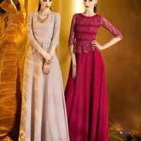 """""""908"""" вечернее платье из новой коллекции Papilio 2015"""