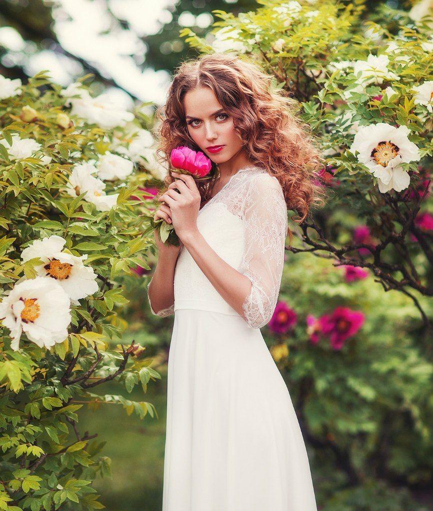 """Платье """"Стефани"""" из свадебной коллекции Модного Дома Юнона - фото 13005342 Салон свадебных и вечерних платьев Unona"""