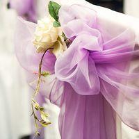 Выездная церемония в фиолетовых тонах