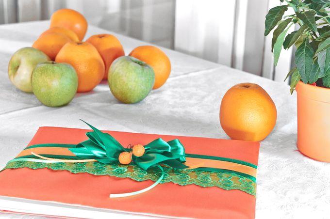 Гостевая книга (Апельсиновый декор)