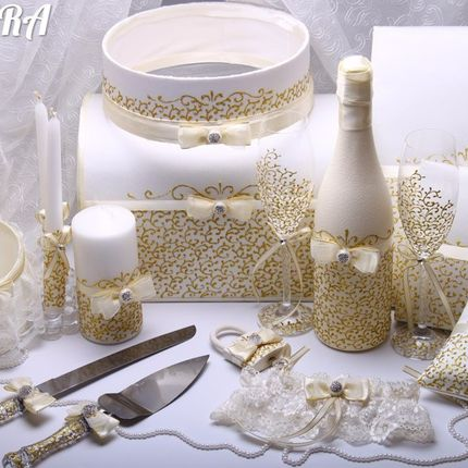 Декор свадебного набора Deluxe
