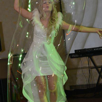 Шоу гигантских мыльных пузырей, 20 минут