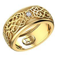 Золото585, бриллиант