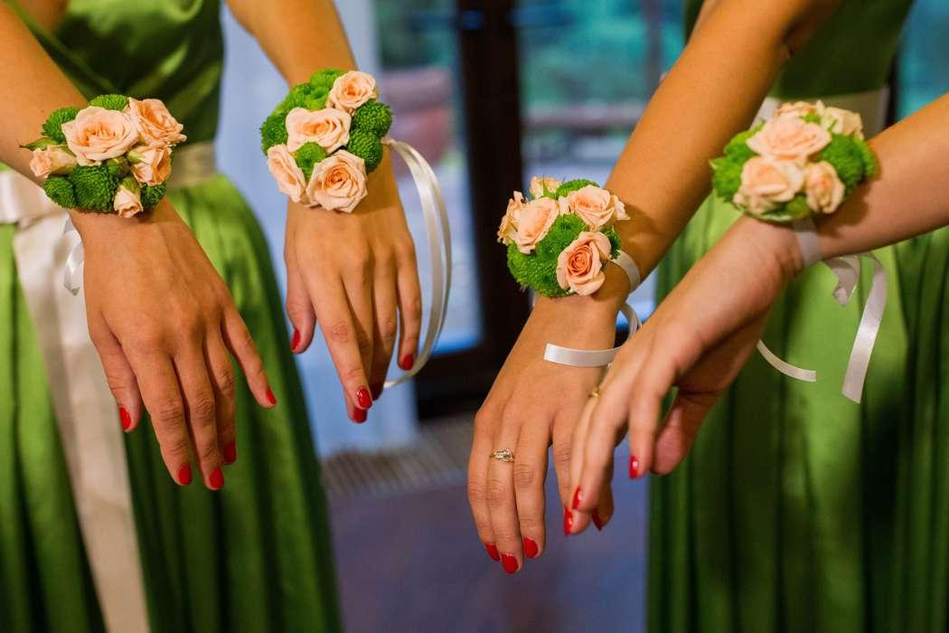 Браслеты подружек невесты своими руками 75