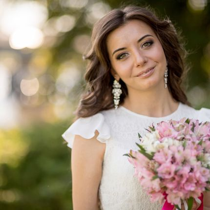 Свадебный образ (макияж и прическа)
