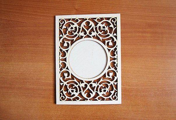 рамка ажурная - фото 9537538 Анастасия Рачинская - аксессуары и декор