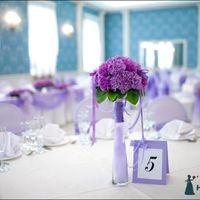Карточка с номером стола на свадьбу