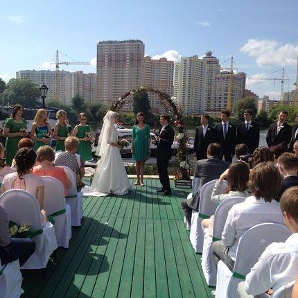 Выездная регистрация брака в Shore House