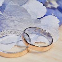 Какая красота- обручальные кольца с гравировкой.