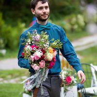 Дорогие невестушки, если Вам понравился букет или цветовая гамма, напишите вопрос Светлане Куликовой