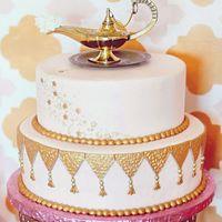 Торт с волшебной лампой Алладина