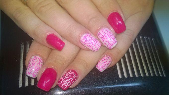 Цветные гели дизайн ногтей