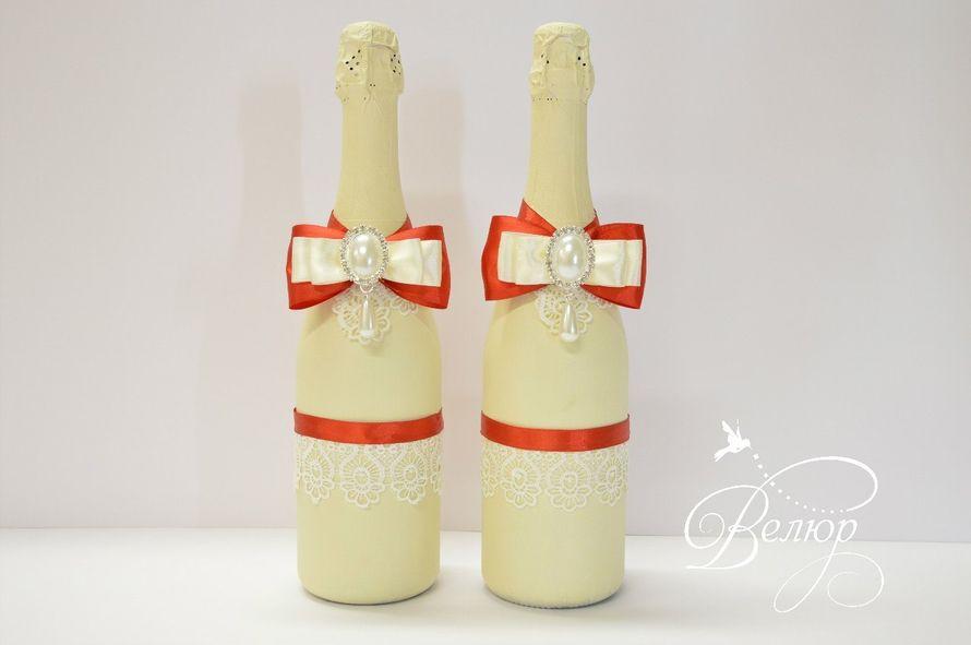 Украшение бутылок