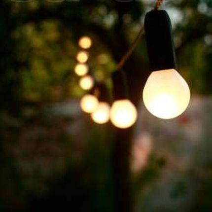 Винтажные гирлянды из лампочек