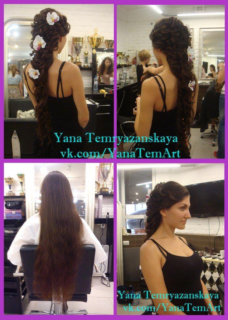 греческая коса - фото 2678713 Стилист-визажист Темрязанская Яна Владимировна
