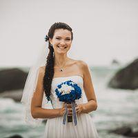 Морской стиль, цвета белый и синий, лето, Владивосток