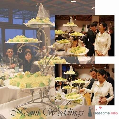 Фото 16409 в коллекции ТОРТ - Noemi Weddings - организация свадеб в Италии