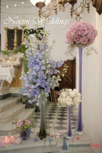 Фото 19004 в коллекции Свадьба в сиреневом цвете..  - Noemi Weddings - организация свадеб в Италии