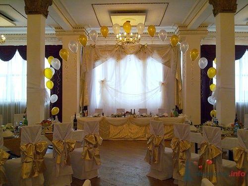 оформление свадьбы тканью и шарами - фото 16603 Бизнес Нюанс BN4 - оформление свадеб