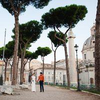 Свадебная прогулка Рим
