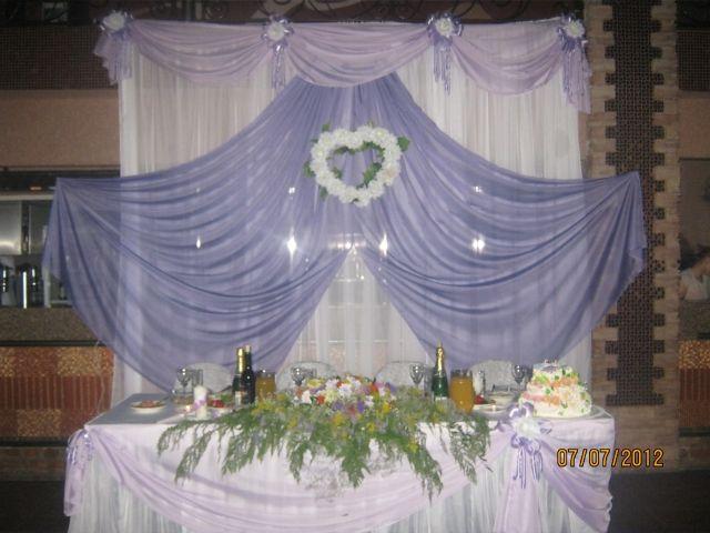 Оформление свадебного стола мастер класс