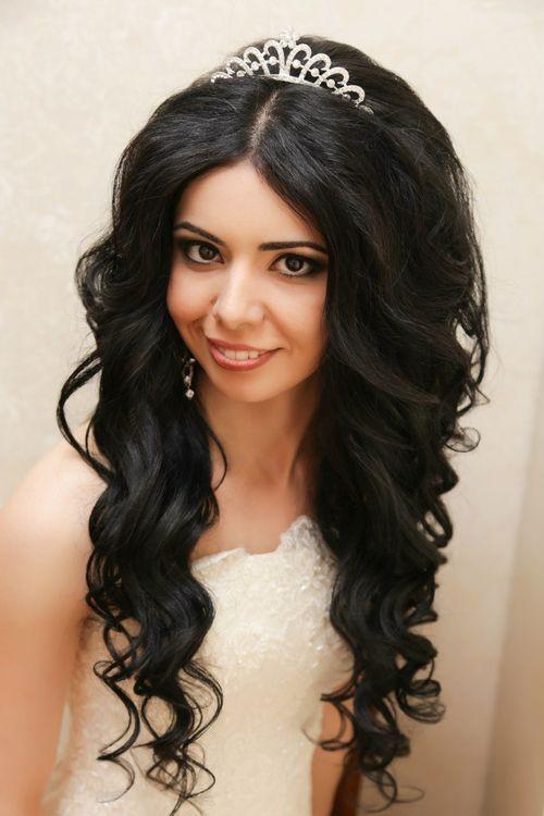 Прически на средние волосы с челкой распущенные фото