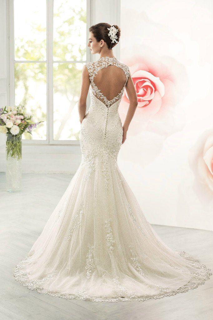 Свадебное платье силуэта рыбка ТМ Naviblue Bridal (США)   - фото 11391430 Свадебный салон Formarriage