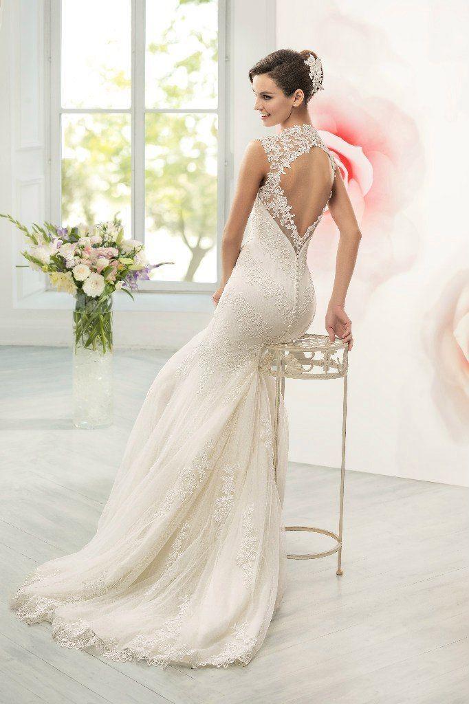Свадебное платье силуэта рыбка ТМ Naviblue Bridal (США)   - фото 11391436 Свадебный салон Formarriage