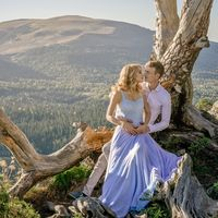 Романтическая свадебная фотосессия Лены и Вадима в горах Адыгеи. Свадебный фотограф Марина Фадеева (город Майкоп)