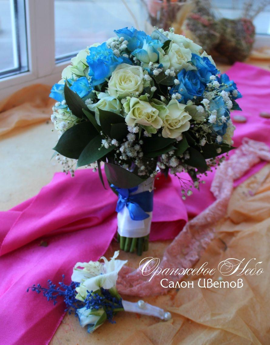 Кустовая роза - фото 2929761 Студия флористики и декора Оранжевое Небо