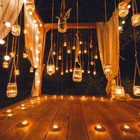 оформление и декор для ночной фотосессии в стиле Рустик