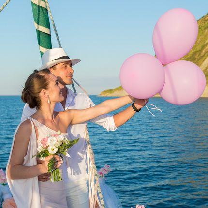 Выездная регистрация на яхте в Италии