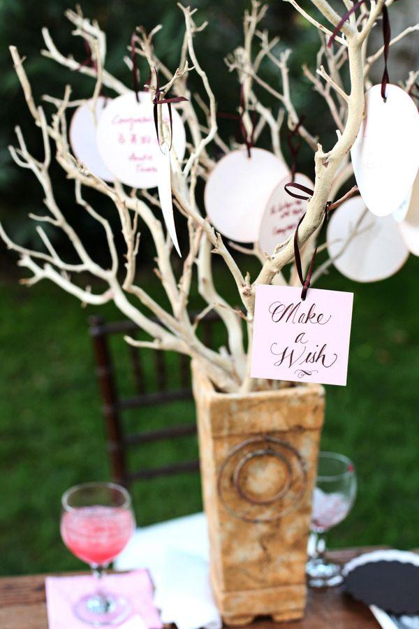 Дерево желаний на свадьбе своими руками