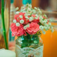 Свадебный декор, элементы рустика
