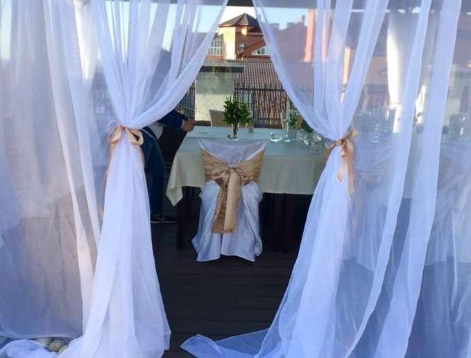 На летней террасе, классическое белое оформление - фото 11036932 Студия декора Rizi