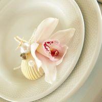 Морской винтаж - оформление тарелок молодых