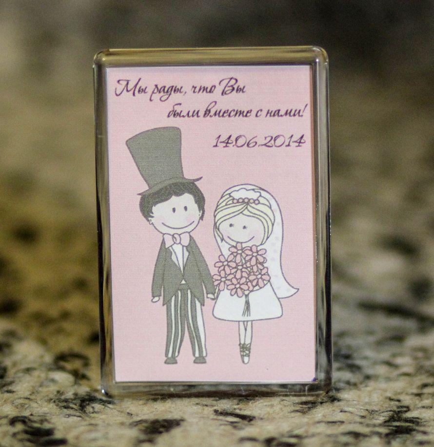 Текст на магнитик подарок гостям на свадьбу 59