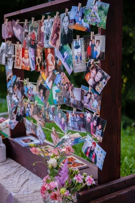 Интерактивная зона для гостей - стенд с фотографиями. - фото 6443062 Студия декора Арт-знаК